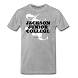 Jackson Junior College Classic HBCU Rep U T-Shirt - heather gray