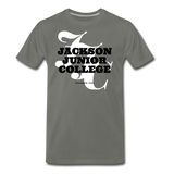 Jackson Junior College Classic HBCU Rep U T-Shirt - asphalt gray