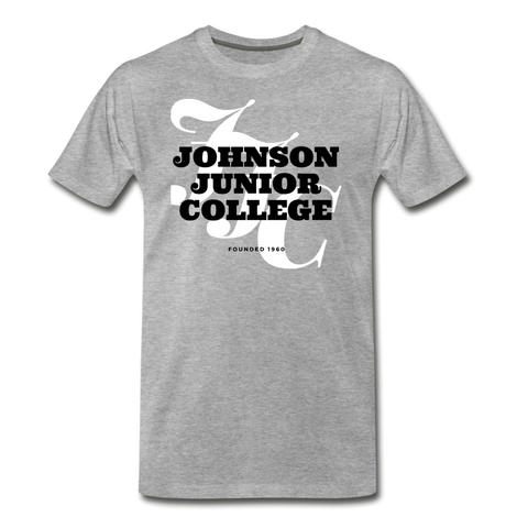 Johnson Junior College Classic HBCU Rep U T-Shirt - heather gray