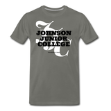 Johnson Junior College Classic HBCU Rep U T-Shirt - asphalt gray