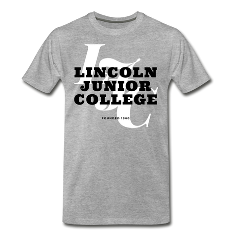 Lincoln Junior College Classic HBCU Rep U T-Shirt - heather gray