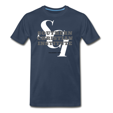 Southern Christian Institute Classic HBCU Rep U T-Shirt - navy