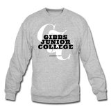 Gibbs Junior College Classic HBCU Rep U Crewneck Sweatshirt - heather gray