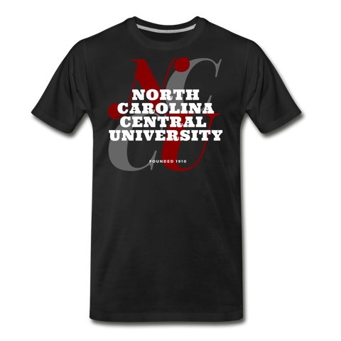 North Carolina Central University Classic HBCU Rep U T-Shirt - black