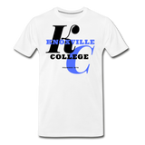 Knoxville College Classic HBCU Rep U T-Shirt - white