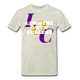 LeMoyne Owen College Classic HBCU Rep U T-Shirt - heather oatmeal