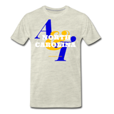 North Carolina A&T State University Classic HBCU Rep U T-Shirt - heather oatmeal