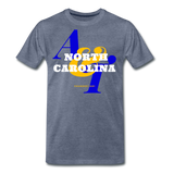 North Carolina A&T State University Classic HBCU Rep U T-Shirt - heather blue