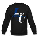 Lincoln University (Missouri) Classic HBCU Rep U Crewneck Sweatshirt - black