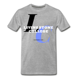 Livingstone College Classic HBCU Rep U T-Shirt - heather gray