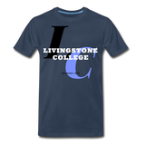 Livingstone College Classic HBCU Rep U T-Shirt - navy