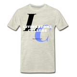 Livingstone College Classic HBCU Rep U T-Shirt - heather oatmeal