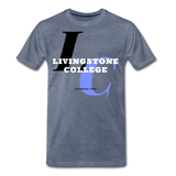 Livingstone College Classic HBCU Rep U T-Shirt - heather blue