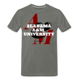 Alabama A&M University (AAMU) Classic HBCU Rep U T-Shirt - asphalt gray