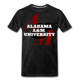 Alabama A&M University (AAMU) Classic HBCU Rep U T-Shirt - charcoal gray