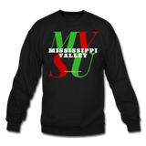 Mississippi Valley State University Classic HBCU Rep U Crewneck Sweatshirt - black
