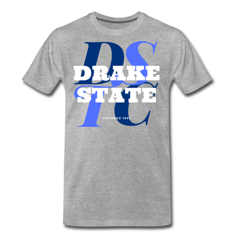 J F Drake State Community and Technical College Classic HBCU Rep U  T-Shirt - heather gray