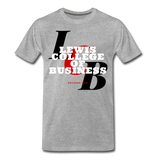 Lewis College of Business Classic HBCU Rep U T-Shirt - heather gray