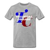 Talladega College Classic HBCU Rep U T-Shirt - heather gray