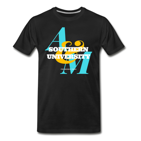Southern University and A&M College Classic HBCU Rep U T-Shirt - black