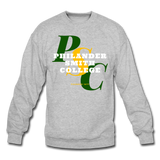 Philander Smith College Classic HBCU Rep U Crewneck Sweatshirt - heather gray