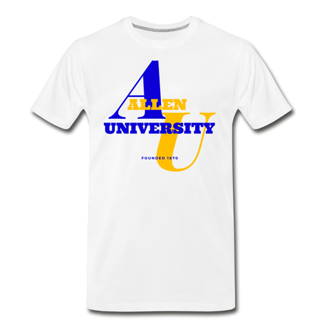 Allen University Classic HBCU Rep U T-Shirt - white