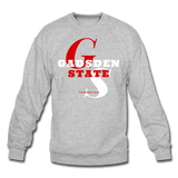 Gadsden State Community College (GSCC) Classic HBCU Rep U Crewneck Sweatshirt - heather gray