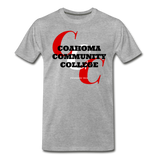Coahoma Community College Classic HBCU Rep U T-Shirt - heather gray