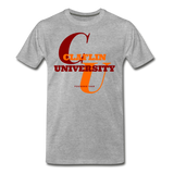 Claflin University Classic HBCU Rep U T-Shirt - heather gray