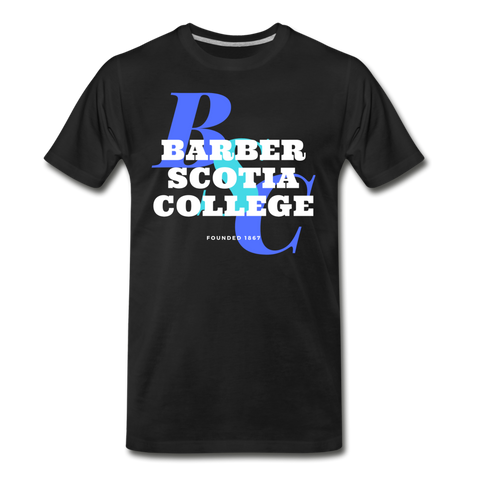 Barber-Scotia College Classic HBCU Rep U T-Shirt - black