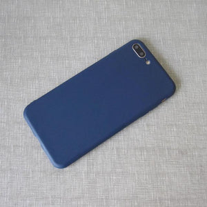 Solid Scrub Silicon Case