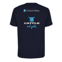 """Cattle, not pets"" T-Shirt"