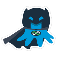 """Octobat"" Sticker"