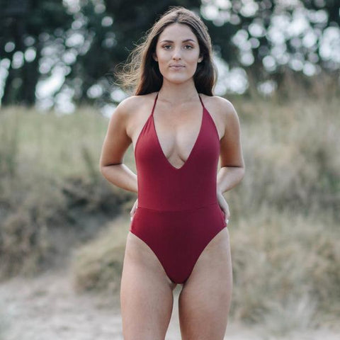 Shay Bottoms - Red + White Reversible