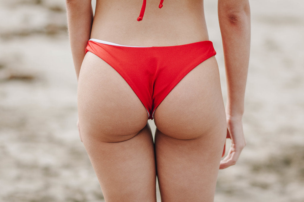 Polly Bottoms - Red & White Reversible