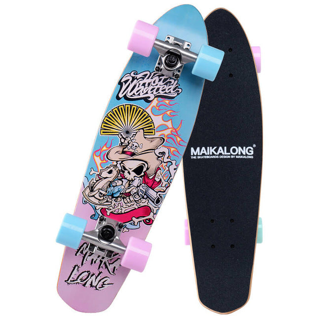 Shoot Em Up Maikalong Maple Longboard