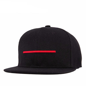 Behind the Line Flat Brim