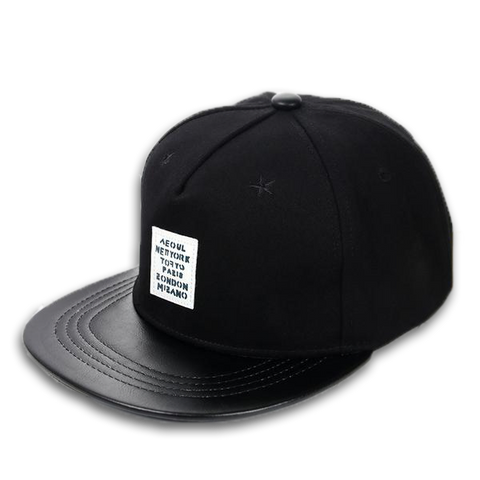 Black Star Patch Snapback