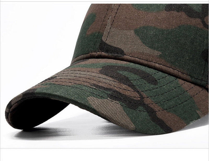 Camouflage High-Grade Cotton Strapback