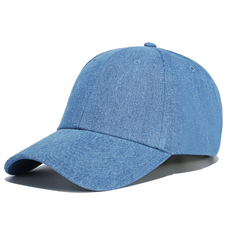 Basic Strapback in Denim
