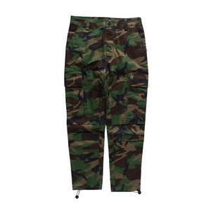 Camouflage Cargo Pants in Green