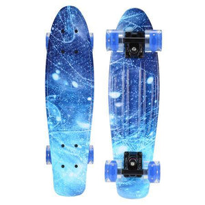 Ice Blue Penny Cruiser Board
