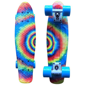 Psychedelic Penny Cruiser Board