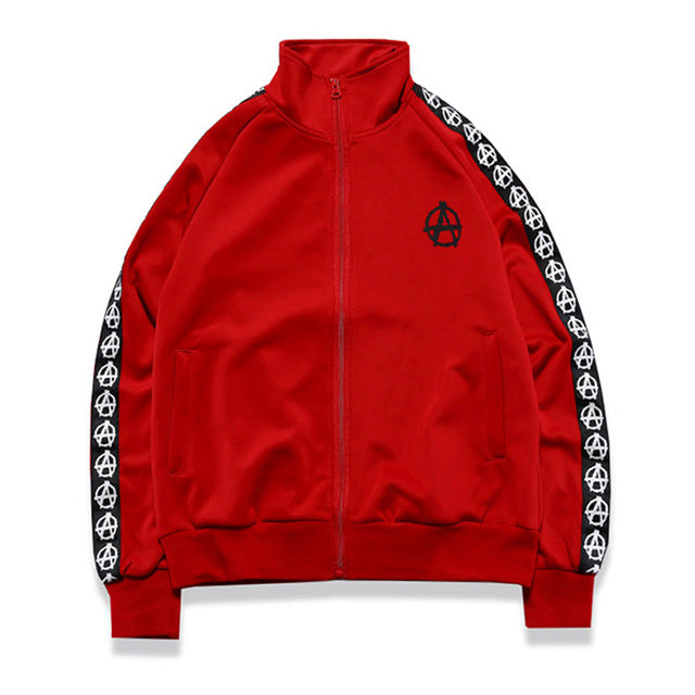 Anarchy Bomber in Red
