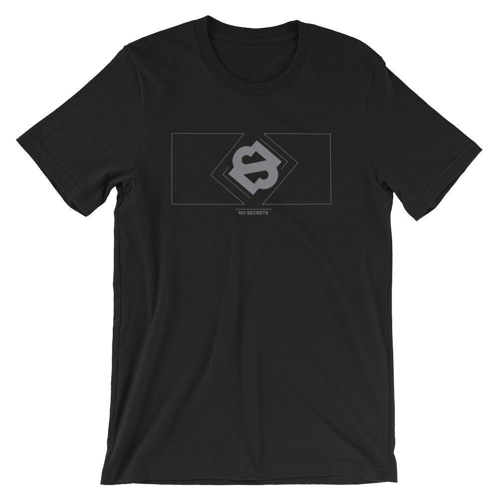 Boxed Gray Logo T-Shirt
