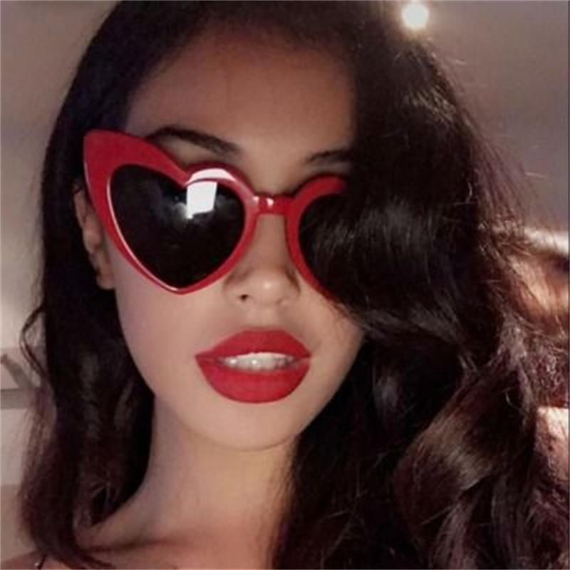 Heart Shape Women Sunglasses