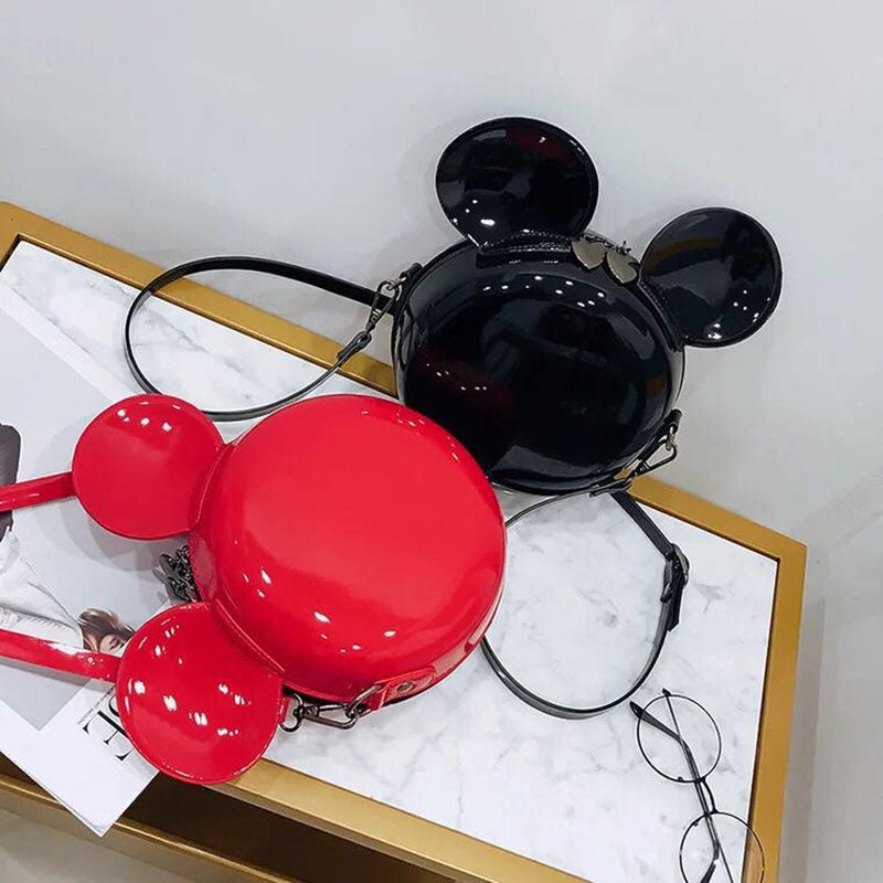 Hey Mickey- Mickey Shaped Shoulder Bag