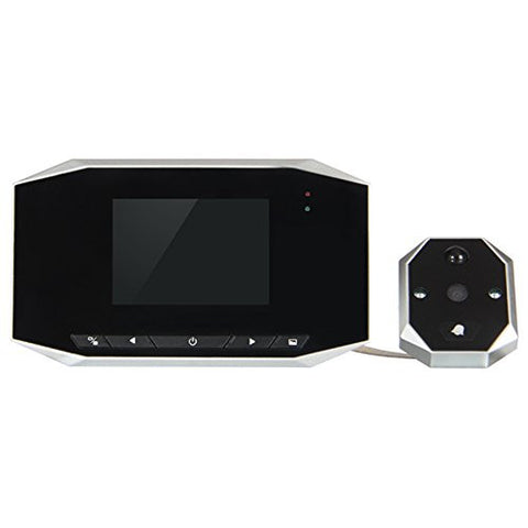 "3.5"" High Resolution LCD Digital Door Viewer 120 degree Peephole + Take Photo + Video Record + Night Vision + Eye Doorbell Video IR Camera Cam"