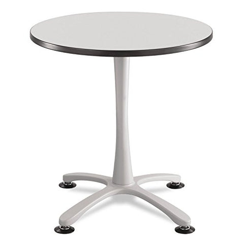 "* Cha-Cha Sitting Height Table Base, X-Style, Steel, 29"" High, Silver"