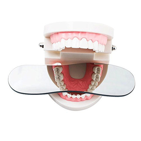 Finlon Dental Intraoral Orthodontic Photographic Glass Mirror 2sided Rhodium Occlusal